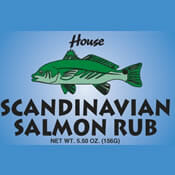 House Scandinavian Salmon Rub