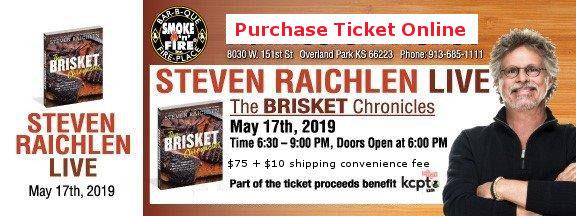 STEVEN RAICHLEN LIVE Friday, May 17, 2019
