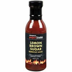 Steven Raichlen Project Smoke BBQ Barbecue Sauce- Lemon Brown Sugar Barbecue Sauce: