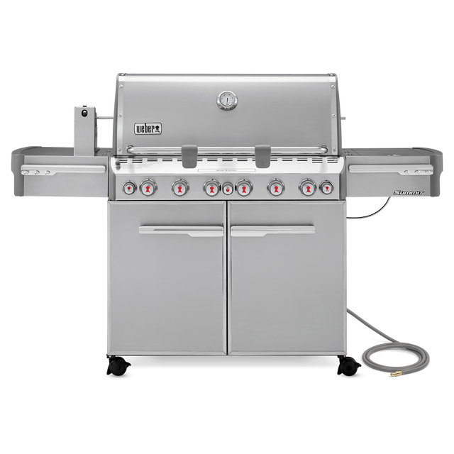 Weber Summit® S-670 Stainless Steel Gas Grill (Natural Gas)