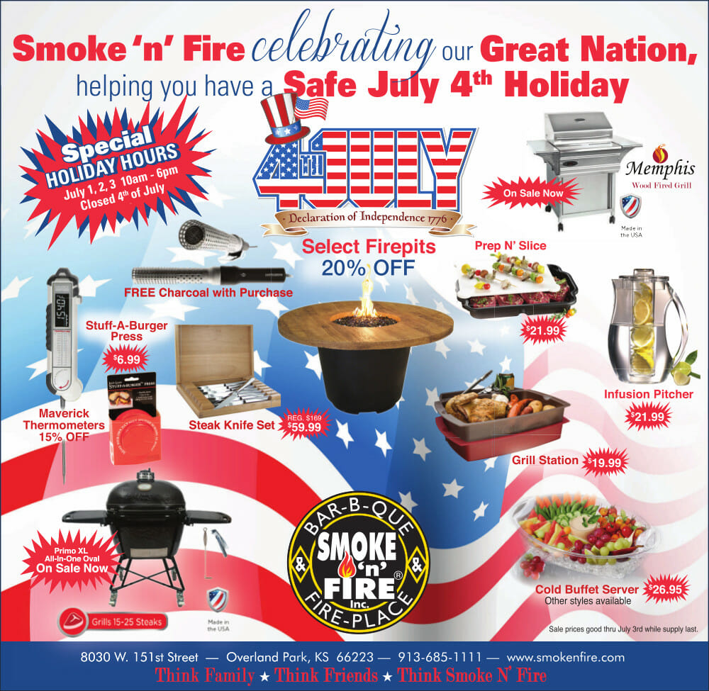 July 4th BBQ Specials
