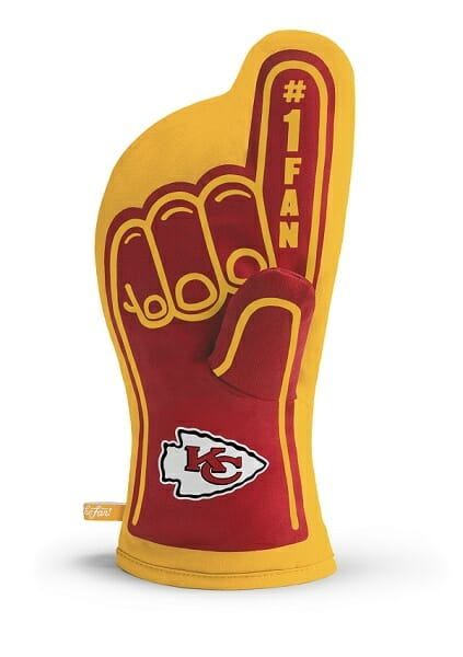 Kansas City Chiefs #1 Oven Mitt
