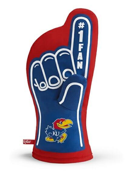 Kansas Jayhawks #1 Oven Mitt