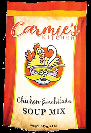 Carmie's Kitchen Chicken Enchilada Soup Mix
