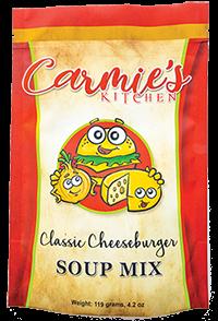 Carmie's Kitchen Classic Cheeseburger Soup Mix