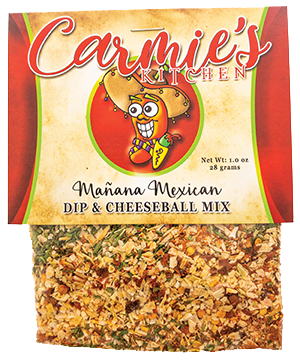 Carmie's Kitchen Manana Mexican dip mix