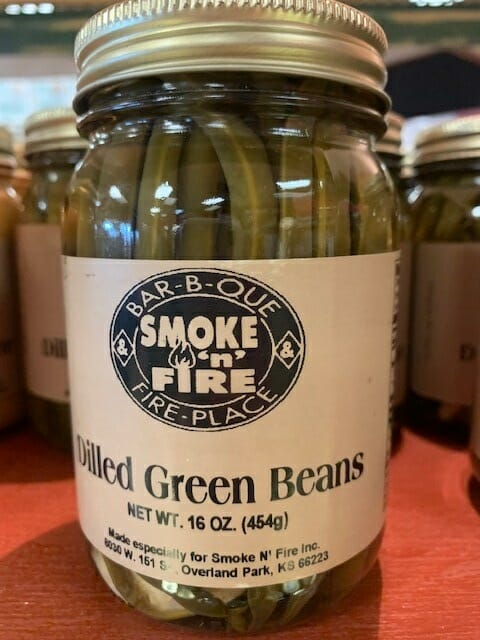 Smoke N Fire's Dilled Green Beans
