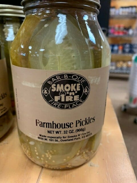 Smoke N Fire's Farmhouse Pickles