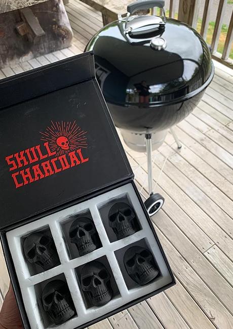 Skull Charcoal Briquettes